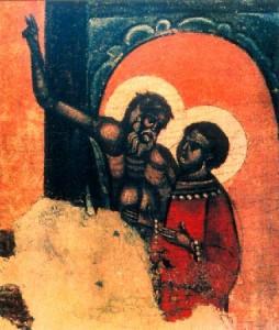 святые Андрей Юродивый и Епифаний