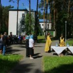 Освящение детского оздоровительного лагеря «Космос»