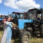 Торжественное начало жатвы в Полоте
