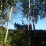 Освящение Креста на месте разрушенного храма