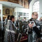 Архиепископ Феодосий совершил Пассию в Свято-Покровском храме
