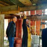 Молебен в храме Рождества Пресвятой Богородицы д. Вороничи