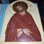 Освящение новой храмовой иконы «Страсти Христовы»